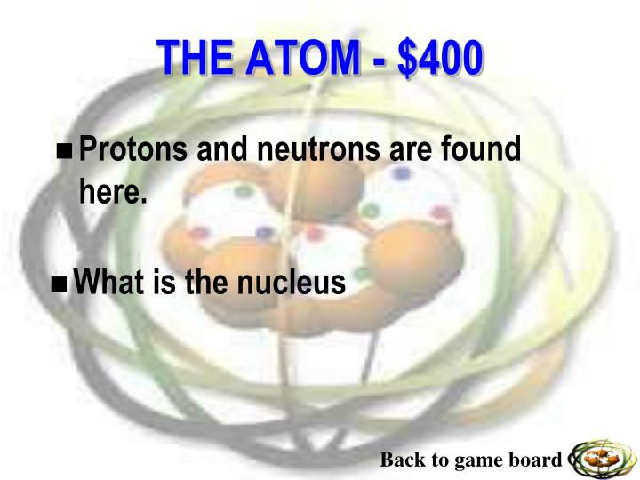 Protons and neutrons are found here.