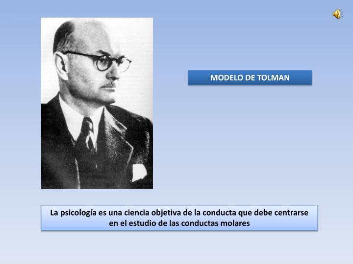 MODELO DE TOLMAN