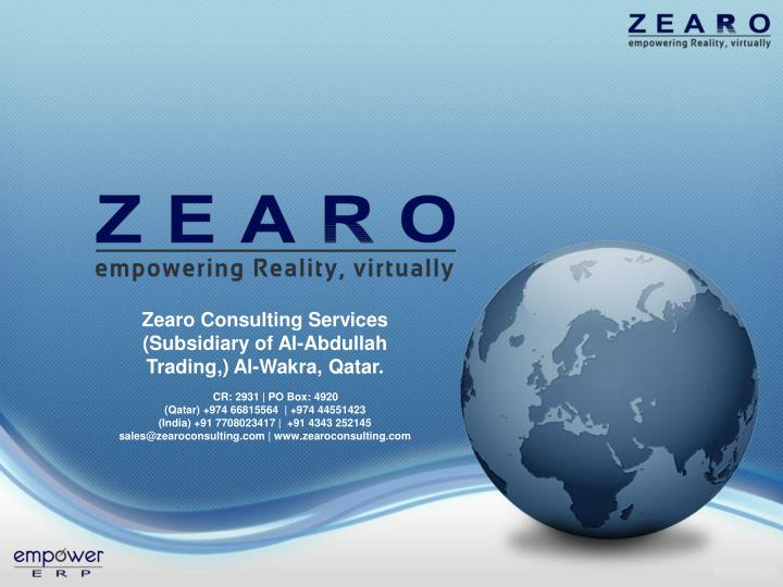 Zearo Consulting Services