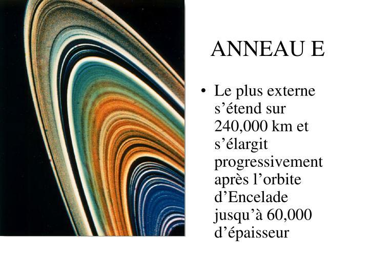ANNEAU E