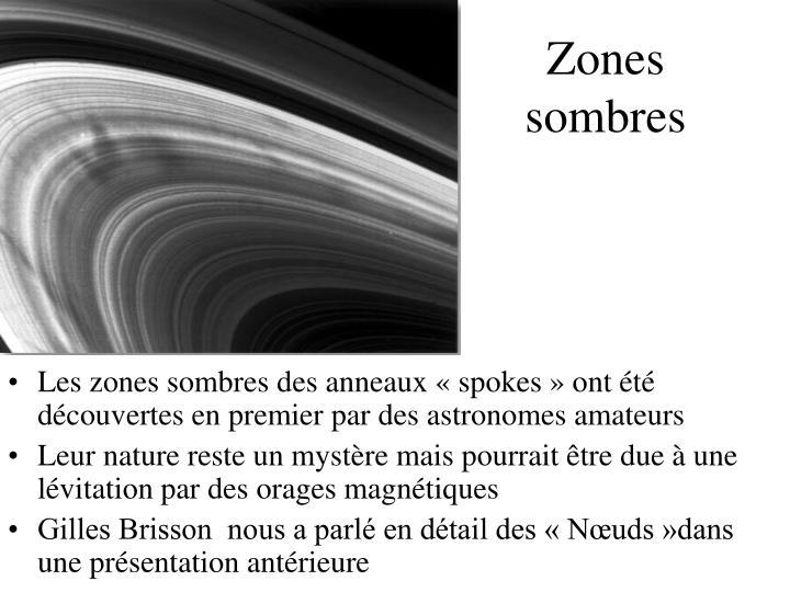 Zones sombres