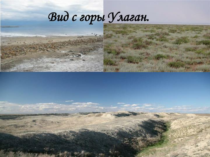 Вид с горы Улаган.