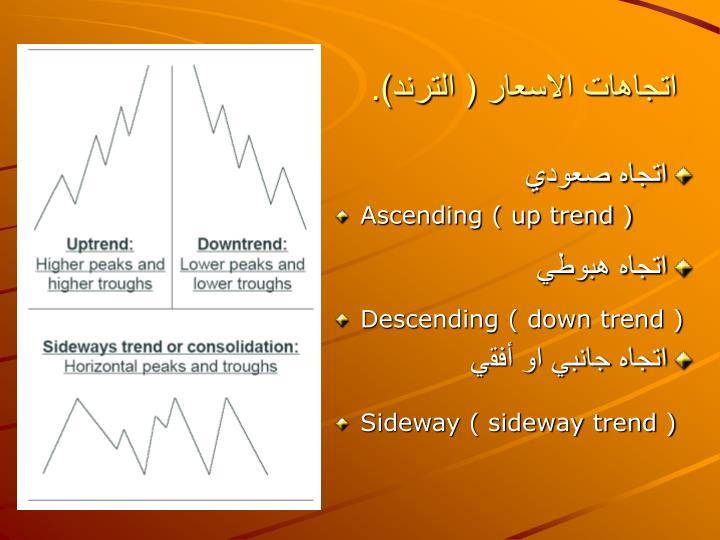 Ascending ( up trend )