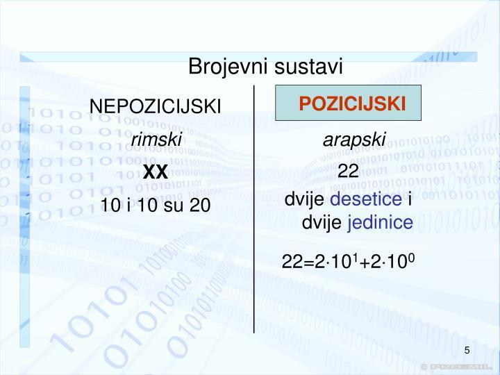 Brojevni sustavi