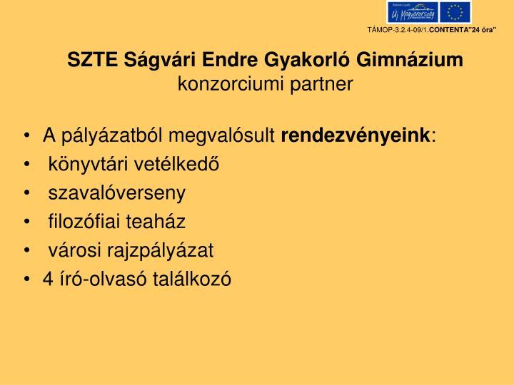 SZTE Ságvári Endre Gyakorló Gimnázium