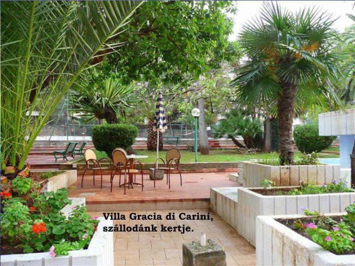 Villa Gracia di Carini,