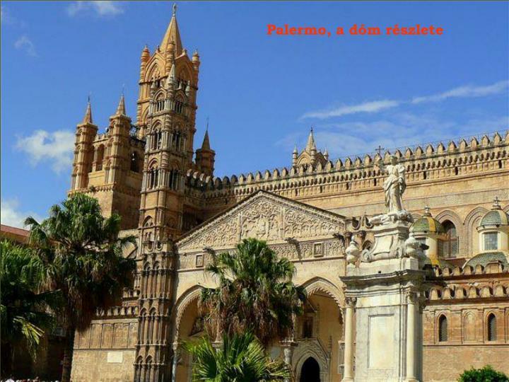 Palermo, a dóm részlete