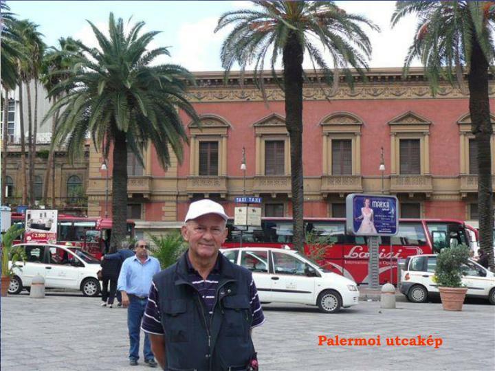 Palermoi utcakép