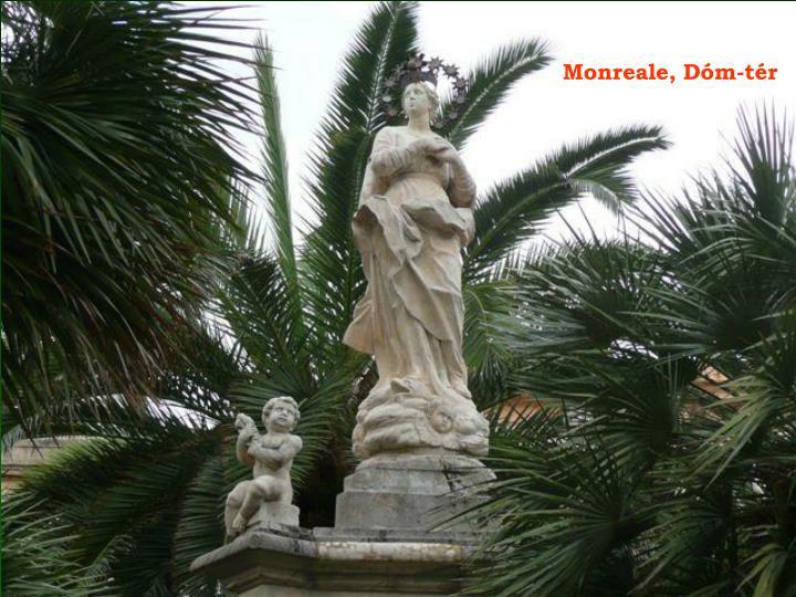 Monreale, Dóm-tér