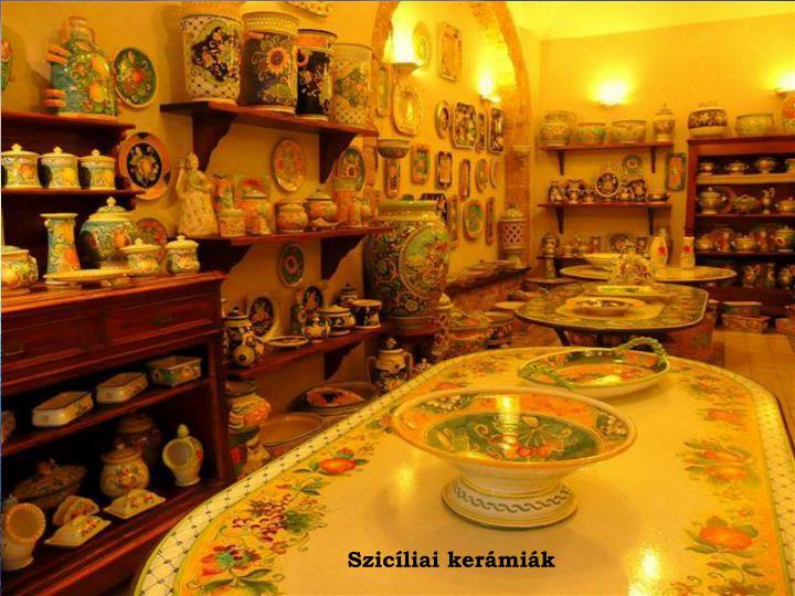 Szicíliai kerámiák