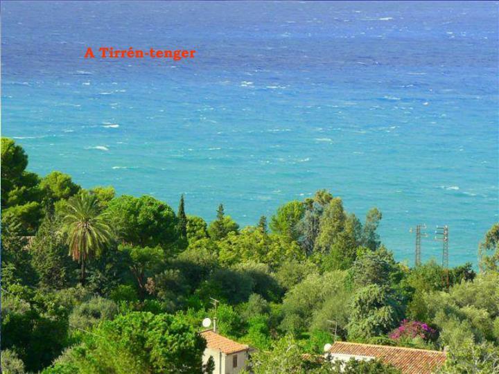A Tirrén-tenger