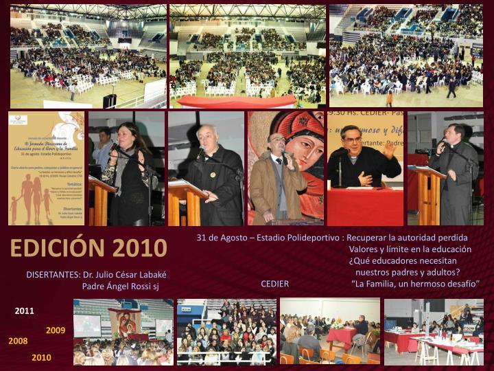 EDICIÓN 2010