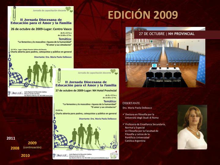 EDICIÓN 2009