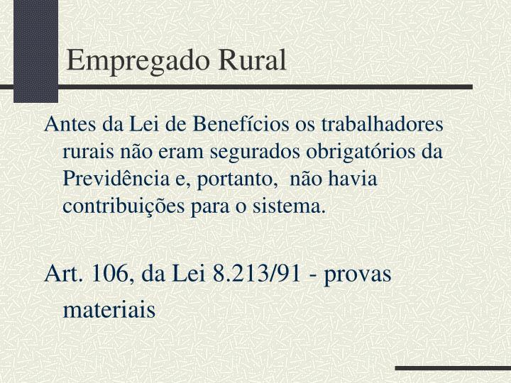 Empregado Rural