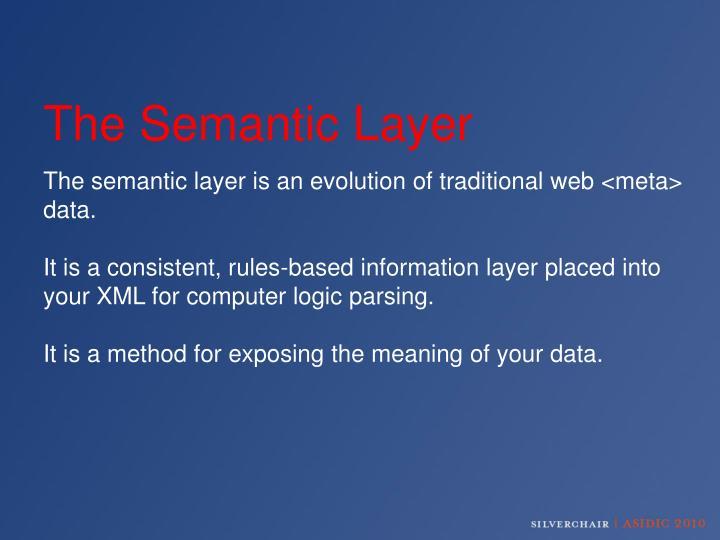The Semantic Layer