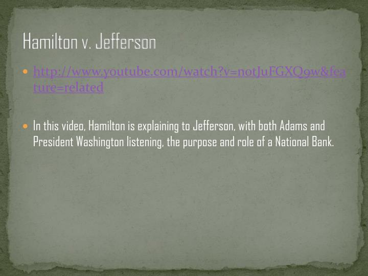 Hamilton v. Jefferson