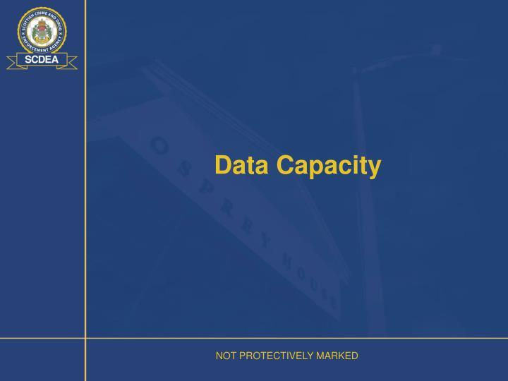 Data Capacity