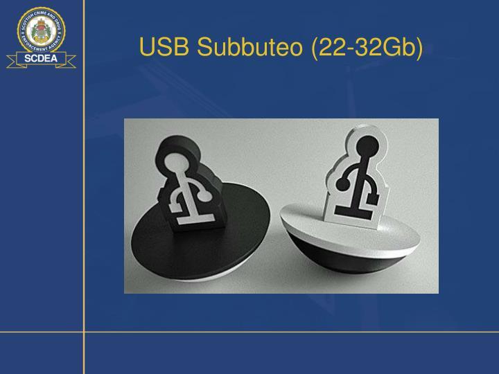 USB Subbuteo (22-32Gb)