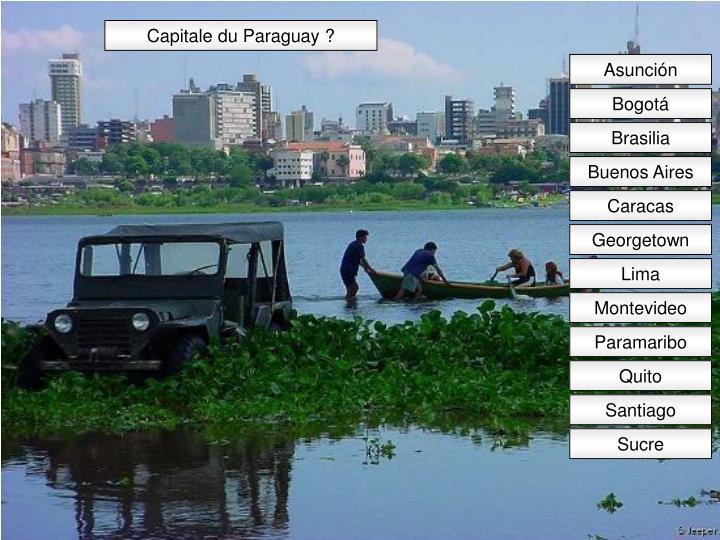 Capitale du Paraguay ?
