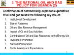 3 the national oil and gas policy for uganda 2