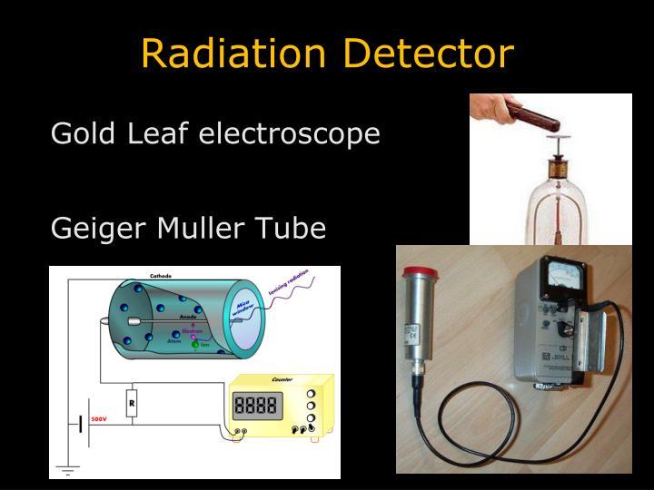 Radiation Detector