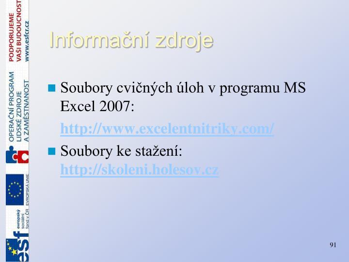 Informační zdroje
