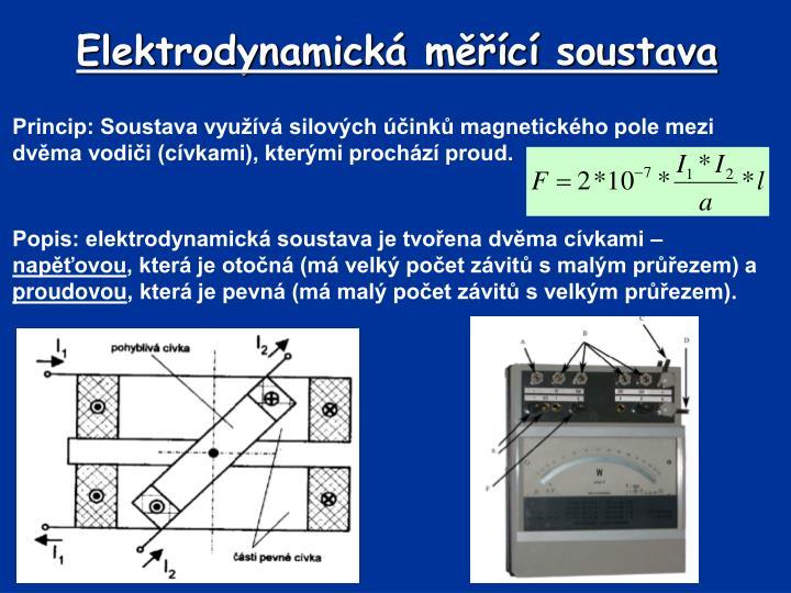 Elektrodynamická měřící soustava