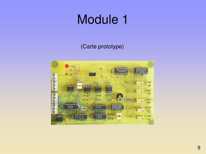 (Carte prototype)
