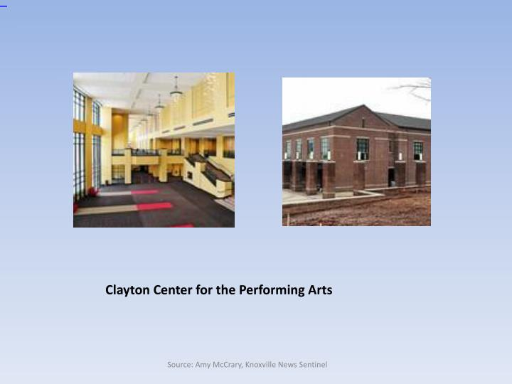 Clayton Center for the Performing Arts