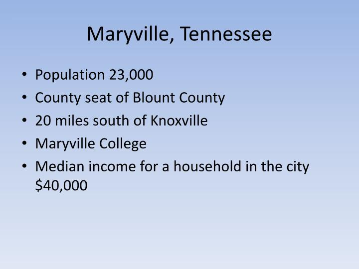 Maryville, Tennessee