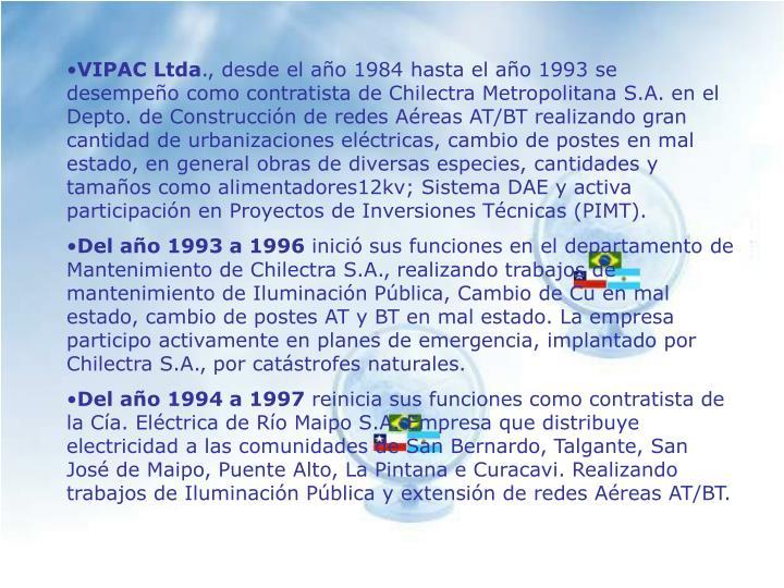 VIPAC Ltda