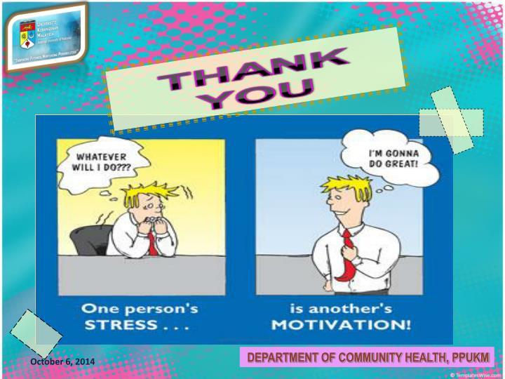 DEPARTMENT OF COMMUNITY HEALTH, PPUKM