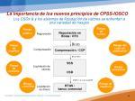 la importancia de los nuevos principios de cpss iosco