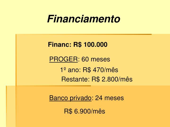 Financiamento