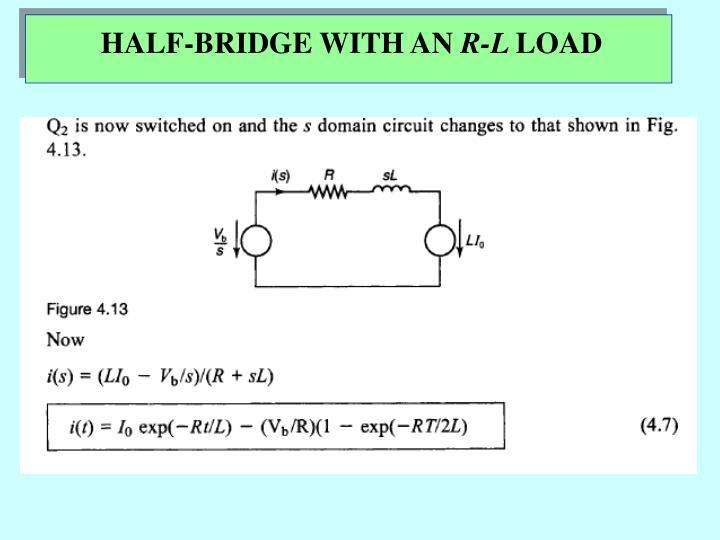 HALF-BRIDGE WITH AN