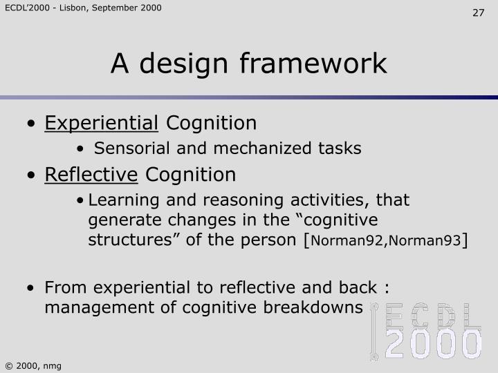 A design framework