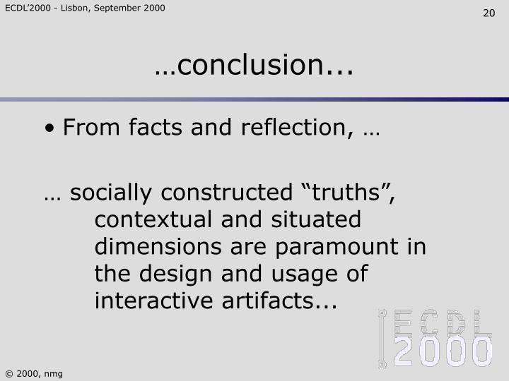…conclusion...