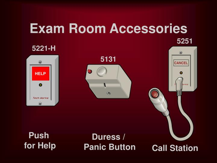 Exam Room Accessories