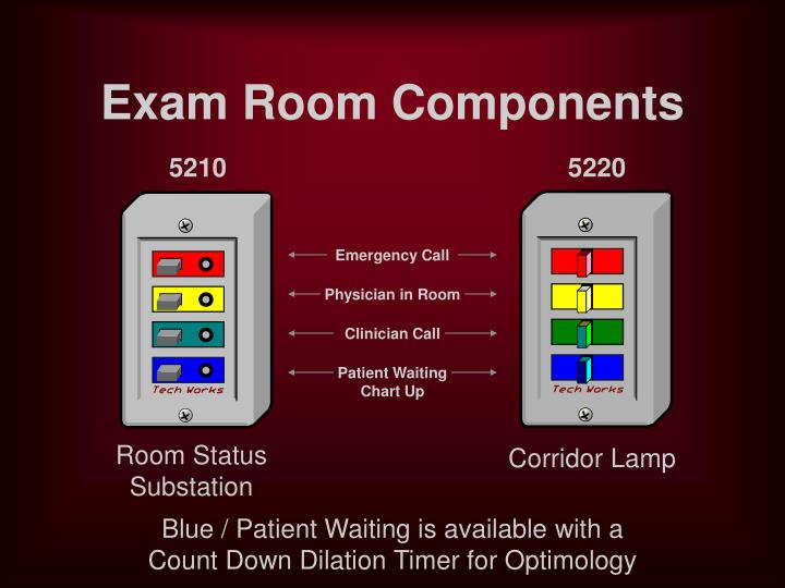 Exam Room Components