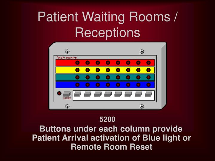 Patient Waiting Rooms / Receptions