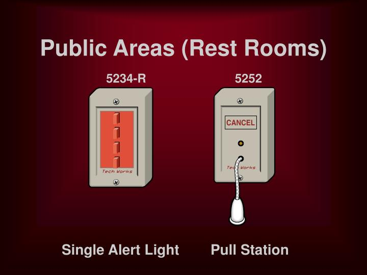 Public Areas (Rest Rooms)
