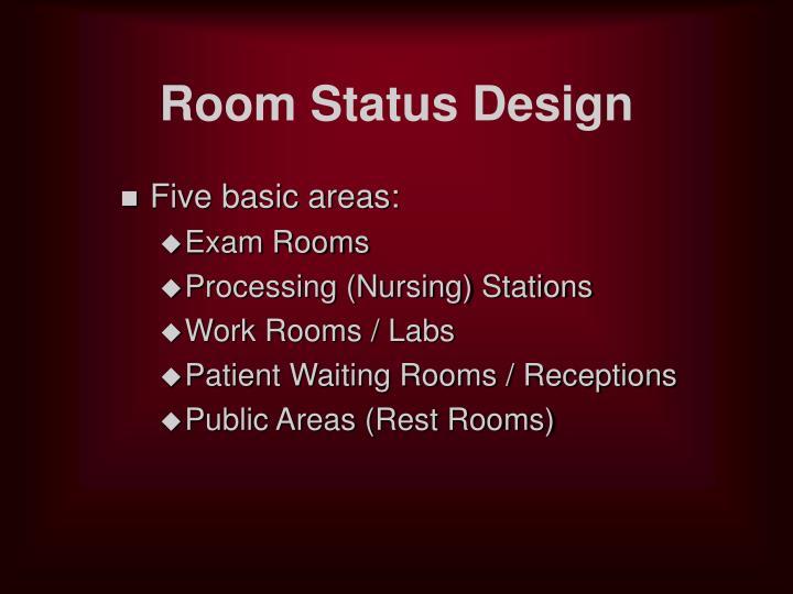 Room Status Design