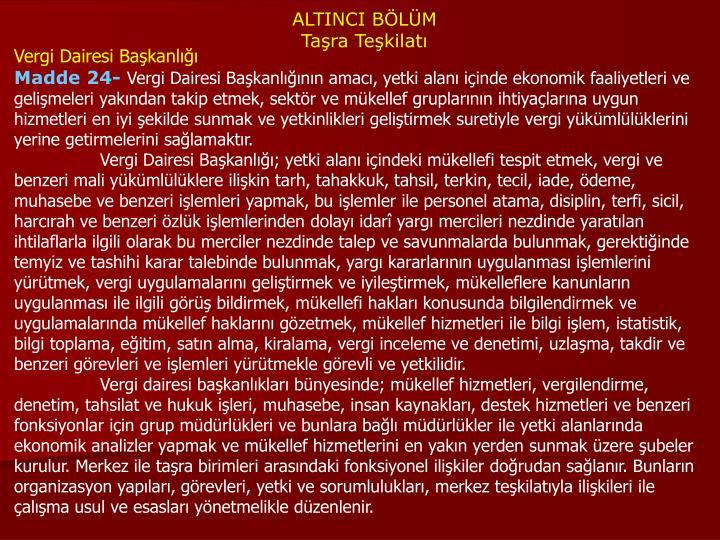 ALTINCI BÖLÜM