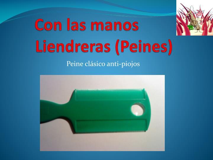 Liendreras (Peines)