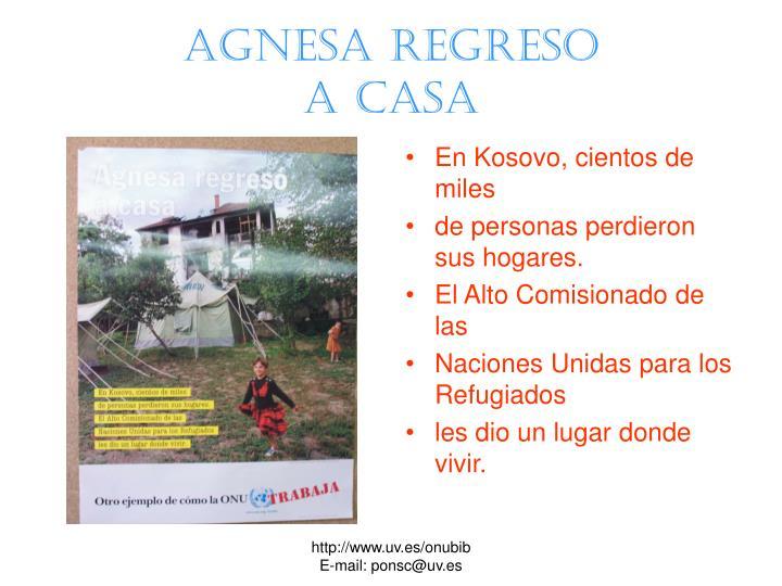 Agnesa regreso