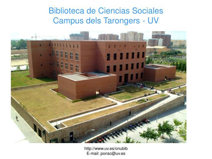 Biblioteca de Ciencias Sociales