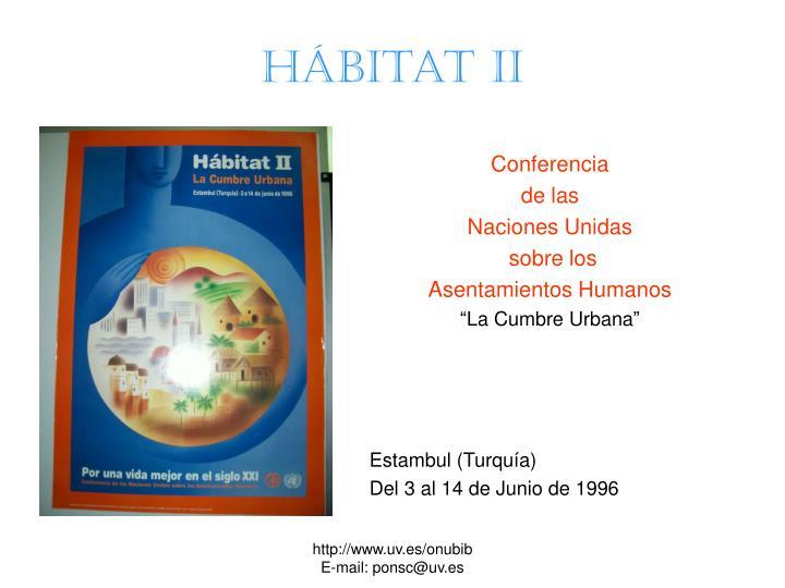 Hábitat II