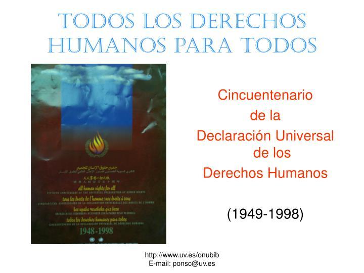Todos los derechos humanos para todos