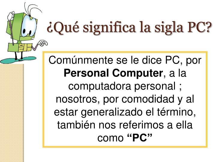 Ppt introducci n a los ordenadores powerpoint for Que significa hardware