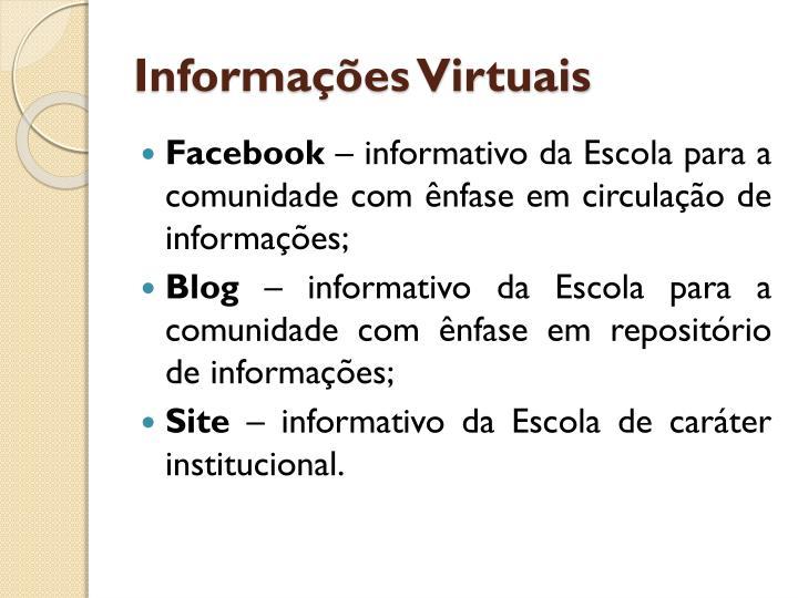 Informações Virtuais